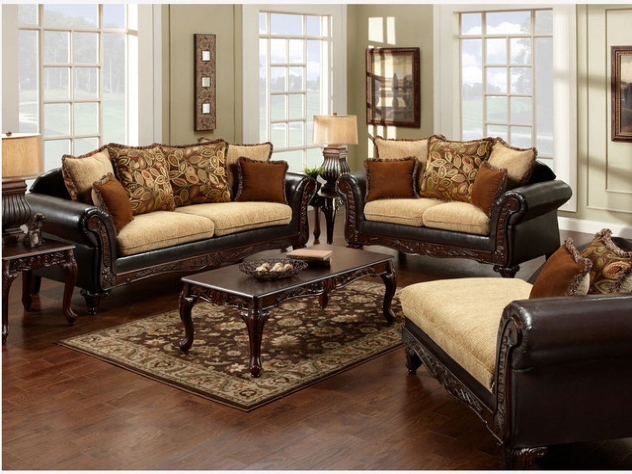 Leather And Cloth Sofas In Best And Newest Couches With Two Different Fabrics Leather And Fabric Sofa In Same (View 9 of 20)