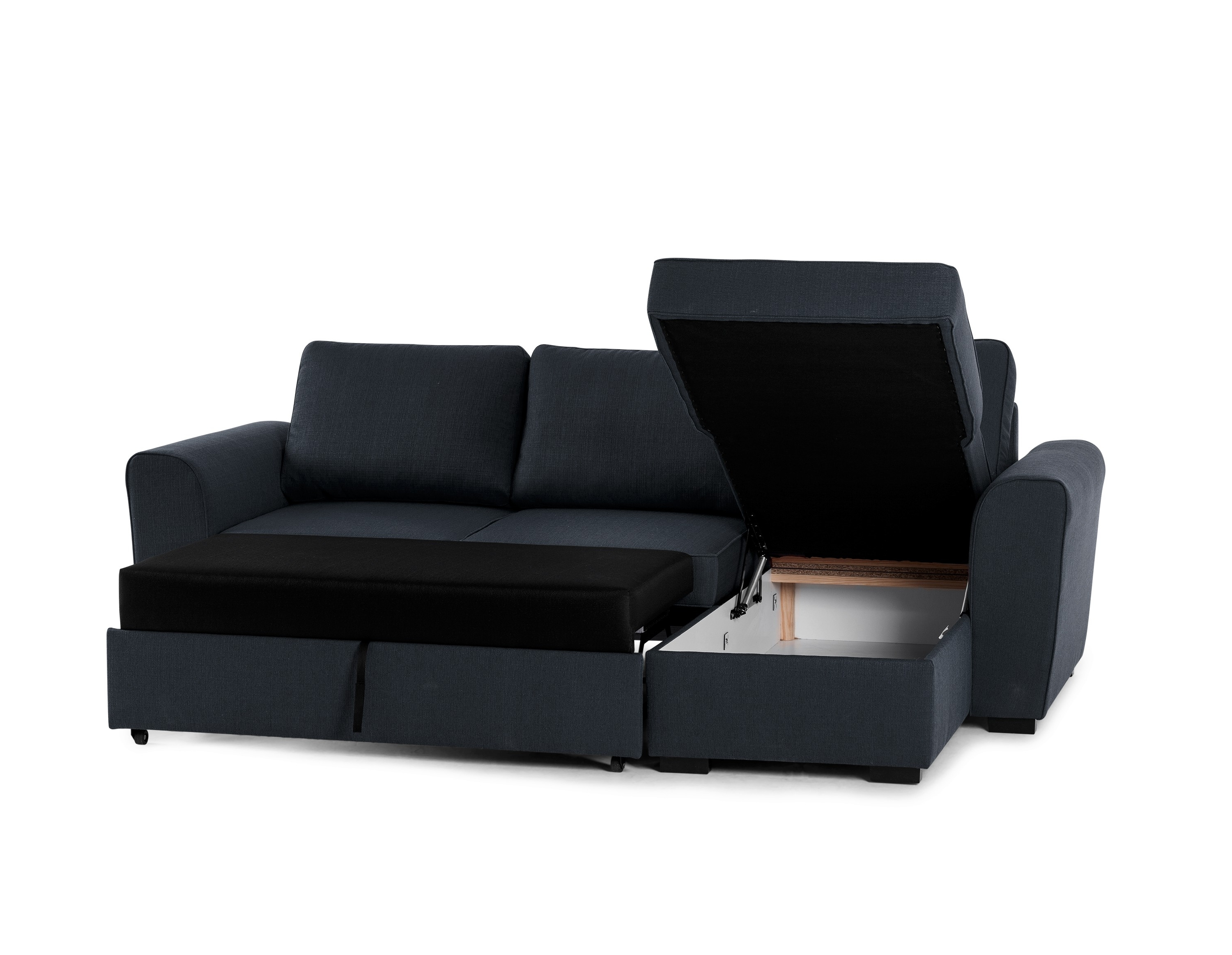 Leather Armchair And Ottoman Chaise Sofa With Storage Ottoman In Most Up To Date Leather Sofas With Storage (View 10 of 20)