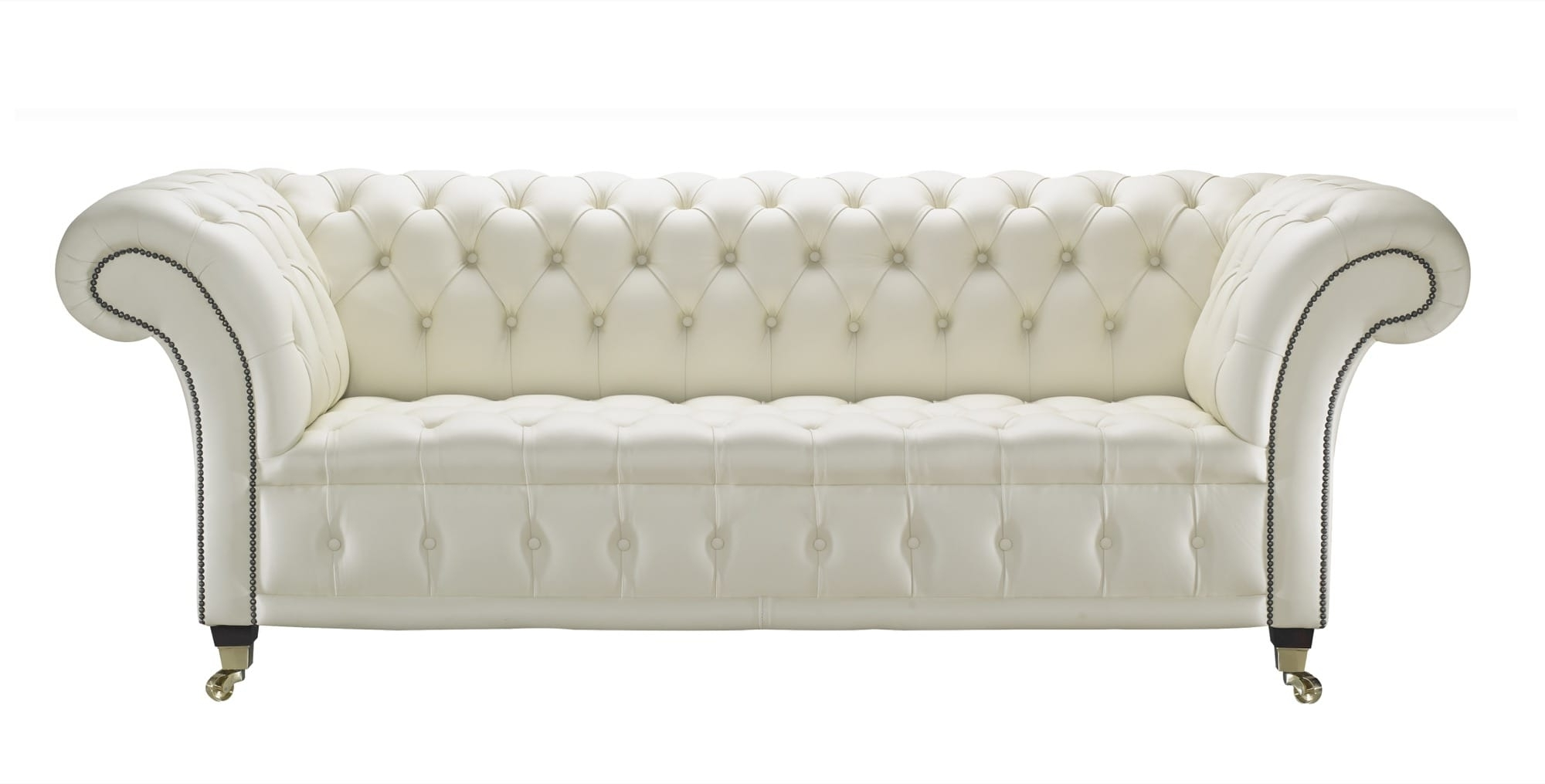 Leather Chesterfield Sofas For Popular Cream Leather Chesterfield Sofa, Handcrafted In The Uk (View 7 of 20)