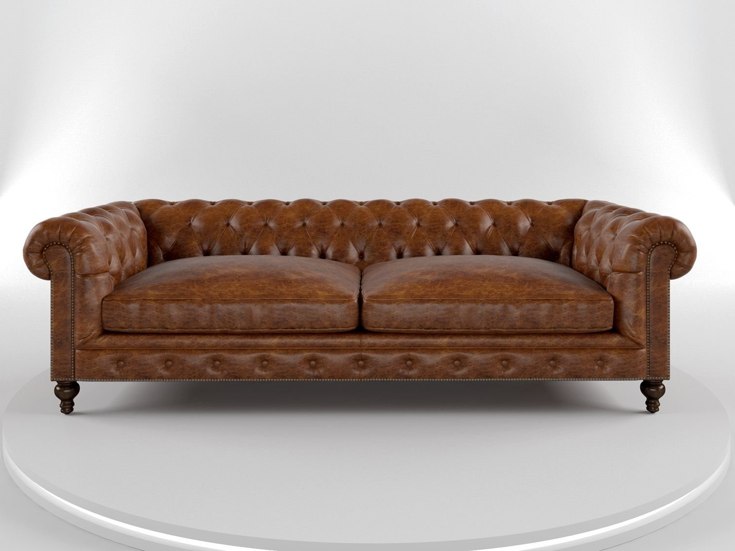 Leather Chesterfield Sofas In Most Popular Cococo Custom Chesterfield Leather Tufted Sofas – Made In Usa (View 8 of 20)