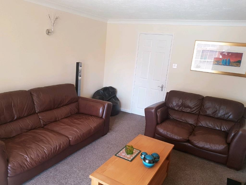 Leather Comfortable 2 Seater/ 3 Seater Sofas (View 5 of 20)