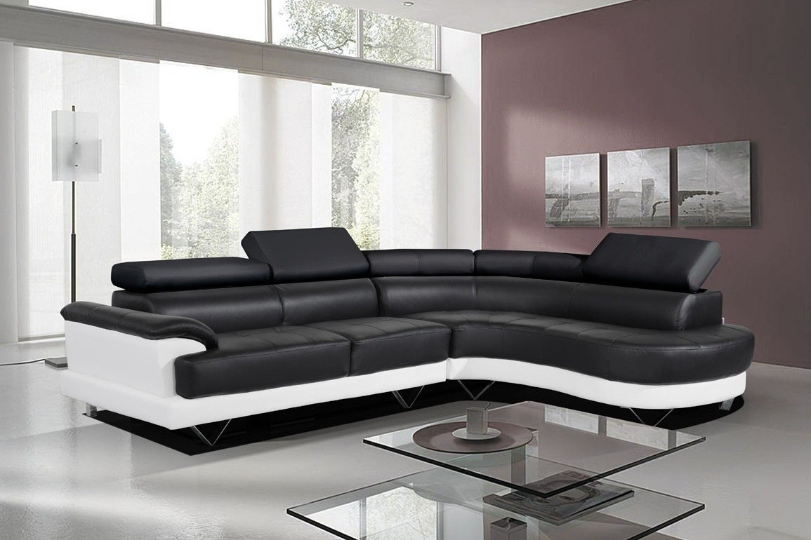 Leather Corner Sofas For Most Recent Furniture: Stunning Leather Corner Sofas Left Hand Corner Sofa (View 5 of 20)
