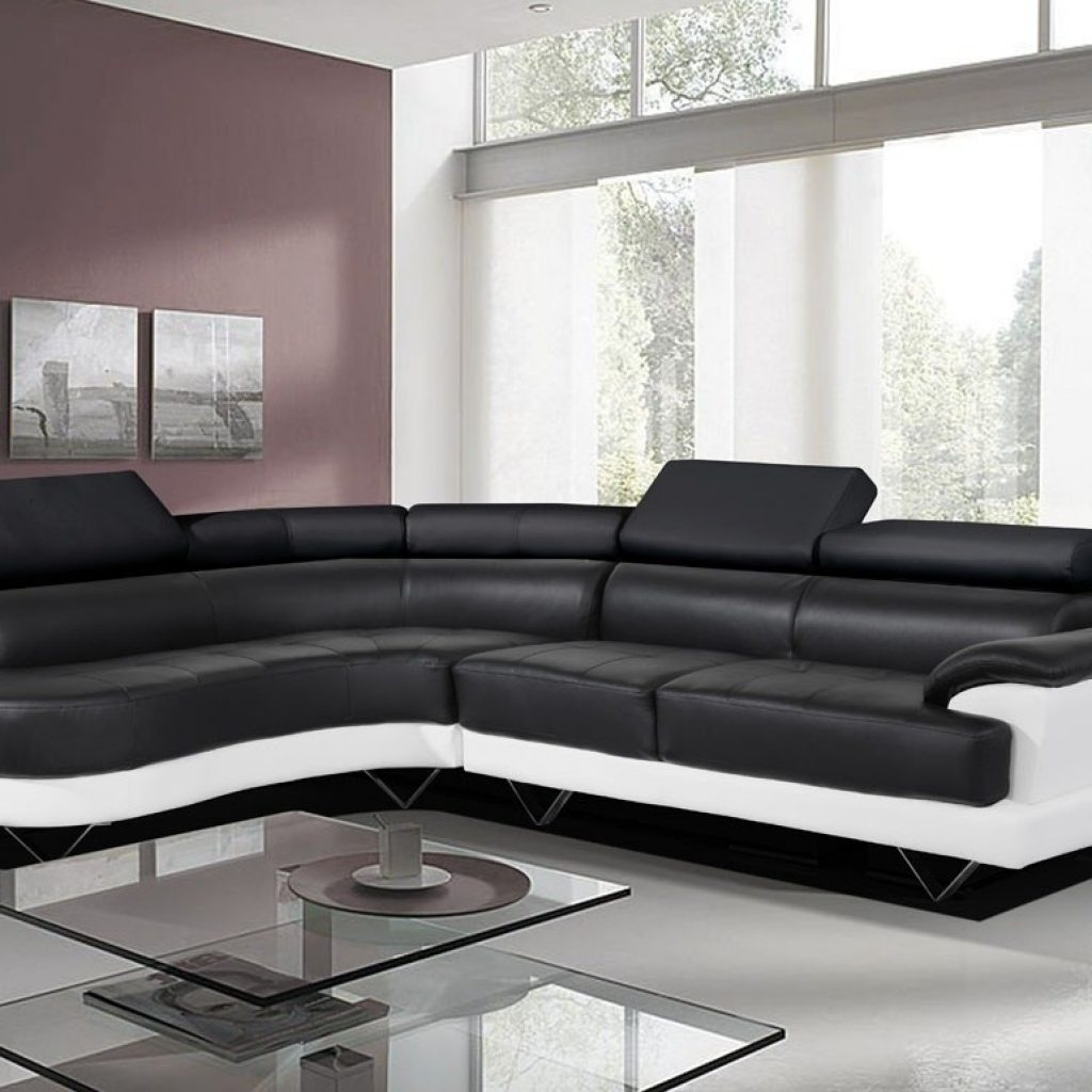 Leather Corner Sofas For Newest Incredible Red Leather Corner Sofas – Buildsimplehome (View 7 of 20)