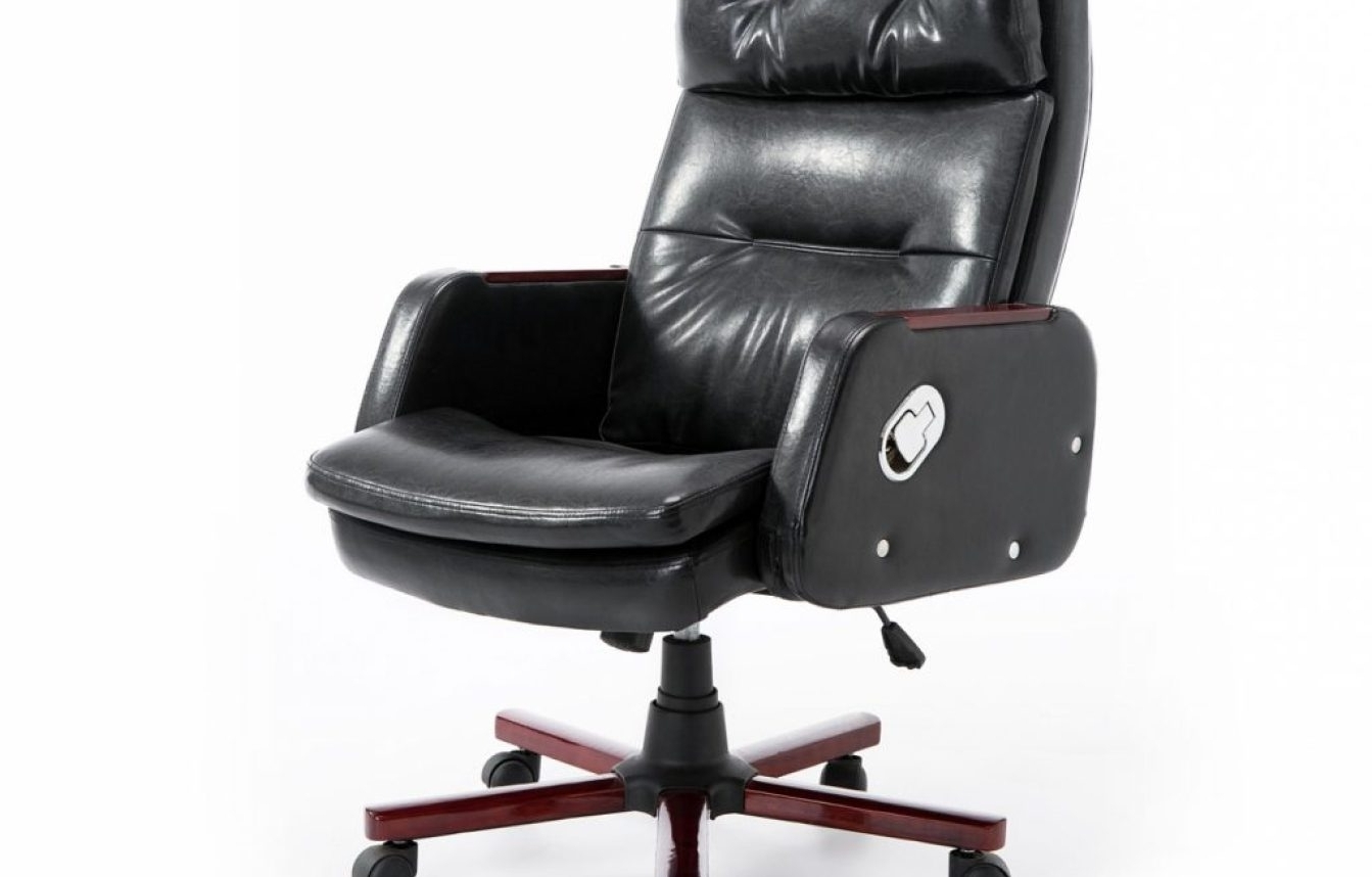 Leather Executive Office Massage Chairs Regarding Widely Used Chair : Fearsome Faux Leather Office Chair Ebay Shining Cream Faux (View 15 of 20)