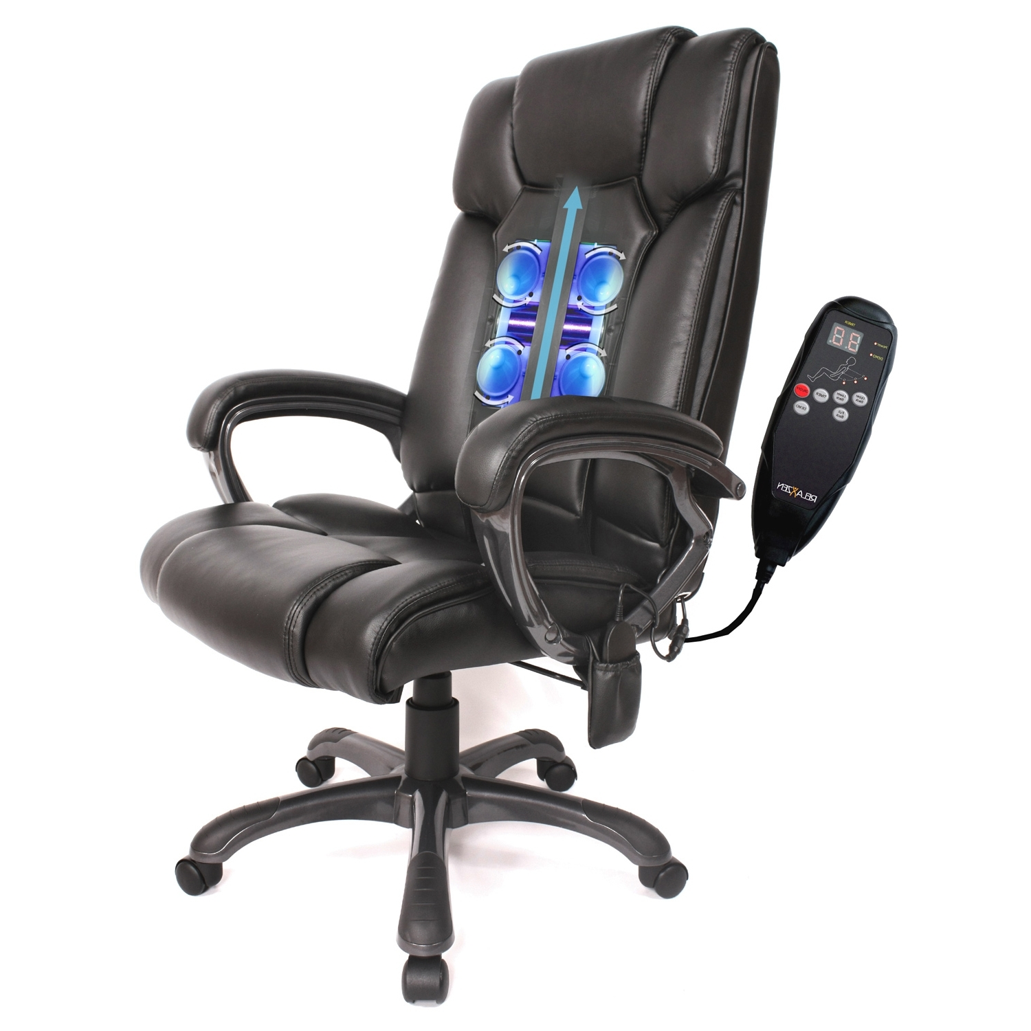 Featured Photo of Leather Executive Office Massage Chairs