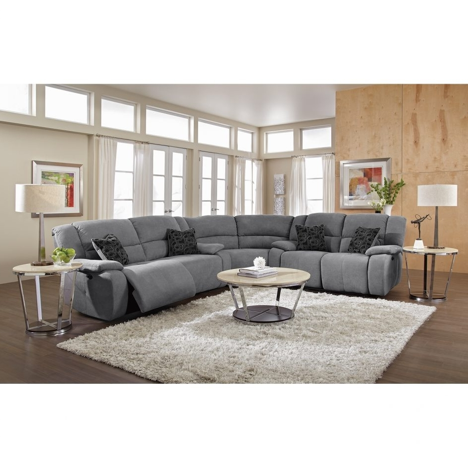 Leather L Shaped Sectional Sofas Regarding Most Recent Reclining Sectional Leather Sectional Grey Sectional Sectionals (View 17 of 20)