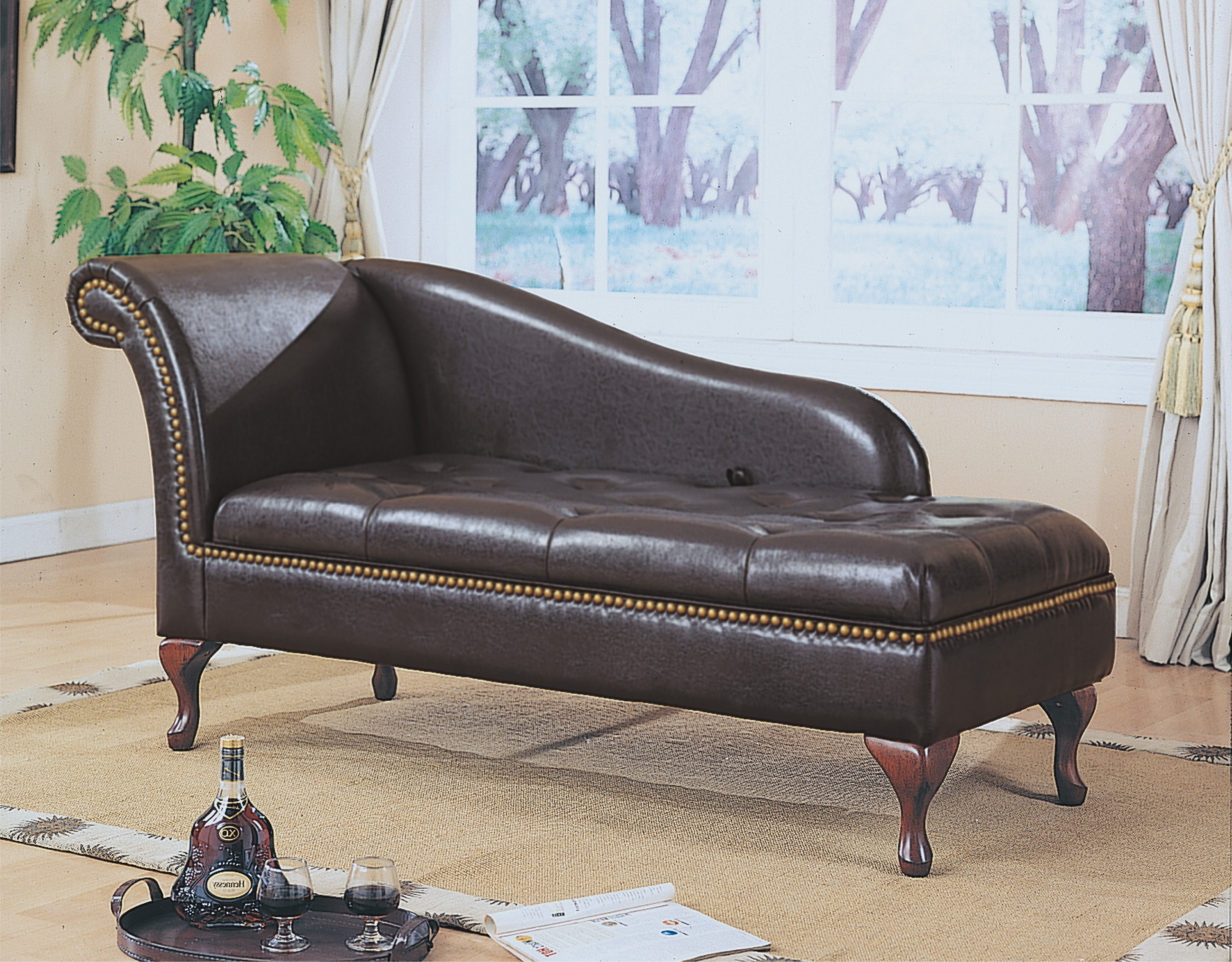 Leather Lounge Sofas Within Recent Chaise Lounge Sofa Leather Theamphletts Com Regarding Decorations (View 7 of 20)