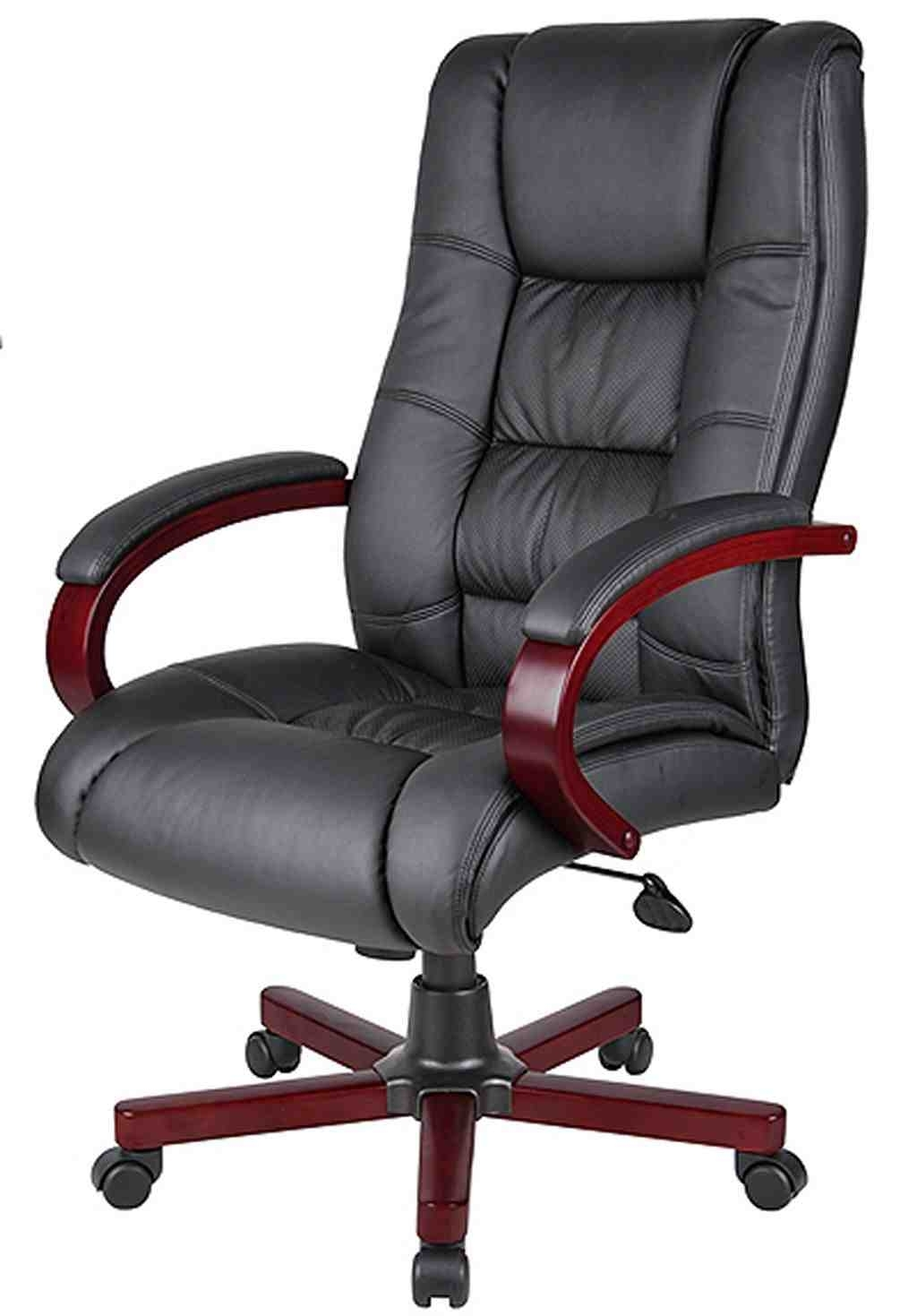 Leather Office Throughout High Back Executive Office Chairs (View 12 of 20)