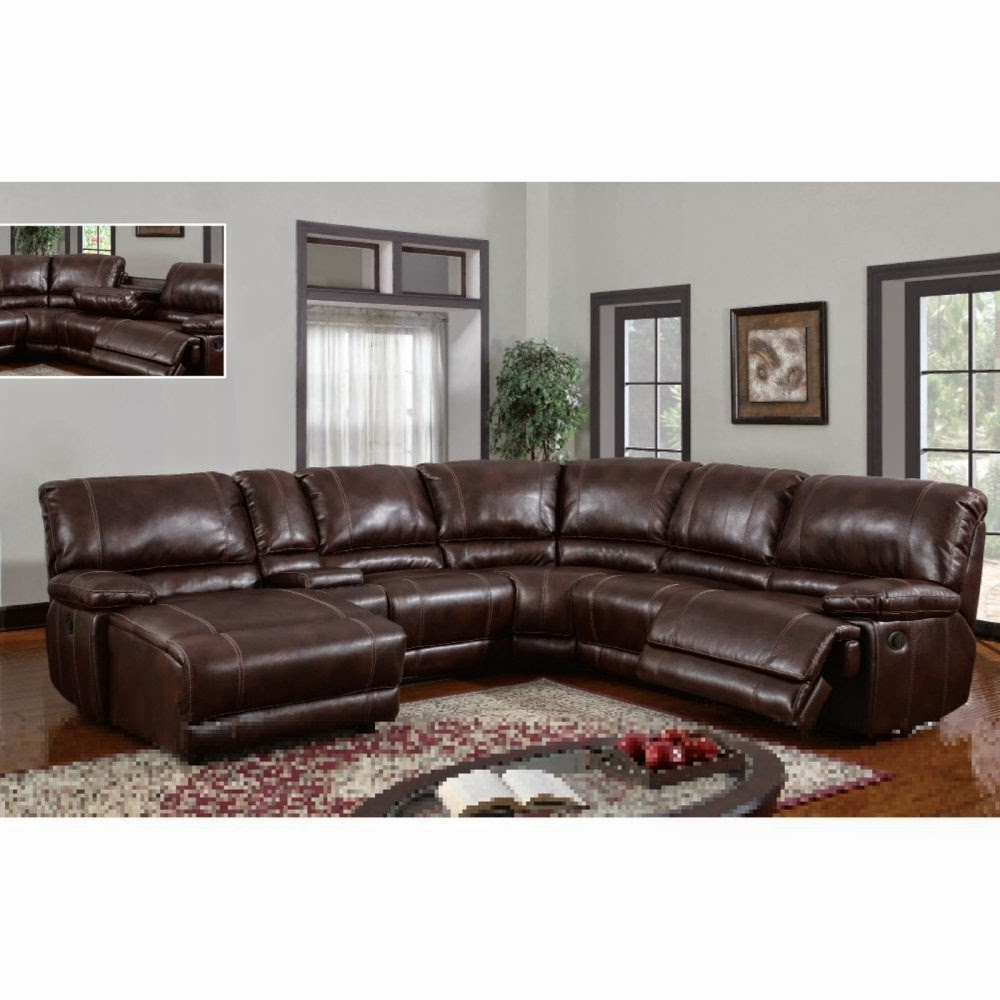 Leather Recliner Sectional Sofas In Most Recent Sectional Reclining Sofa Sale: Reclining Sectional Sofas With (View 9 of 20)