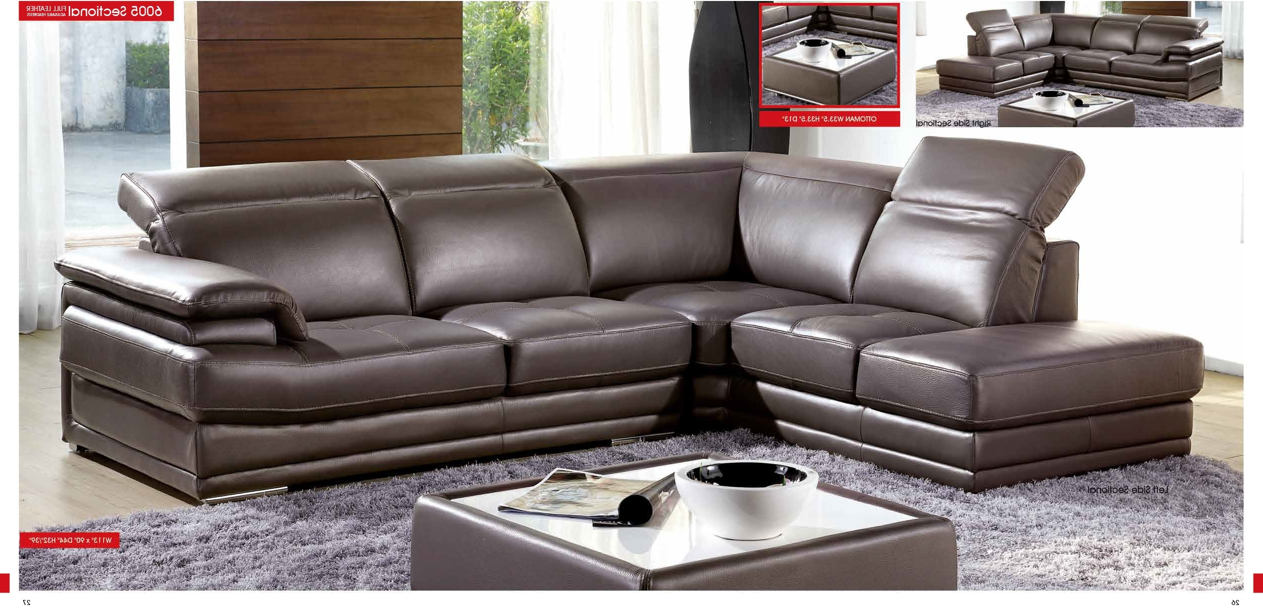Leather Sectional Sofa Miami (View 4 of 20)