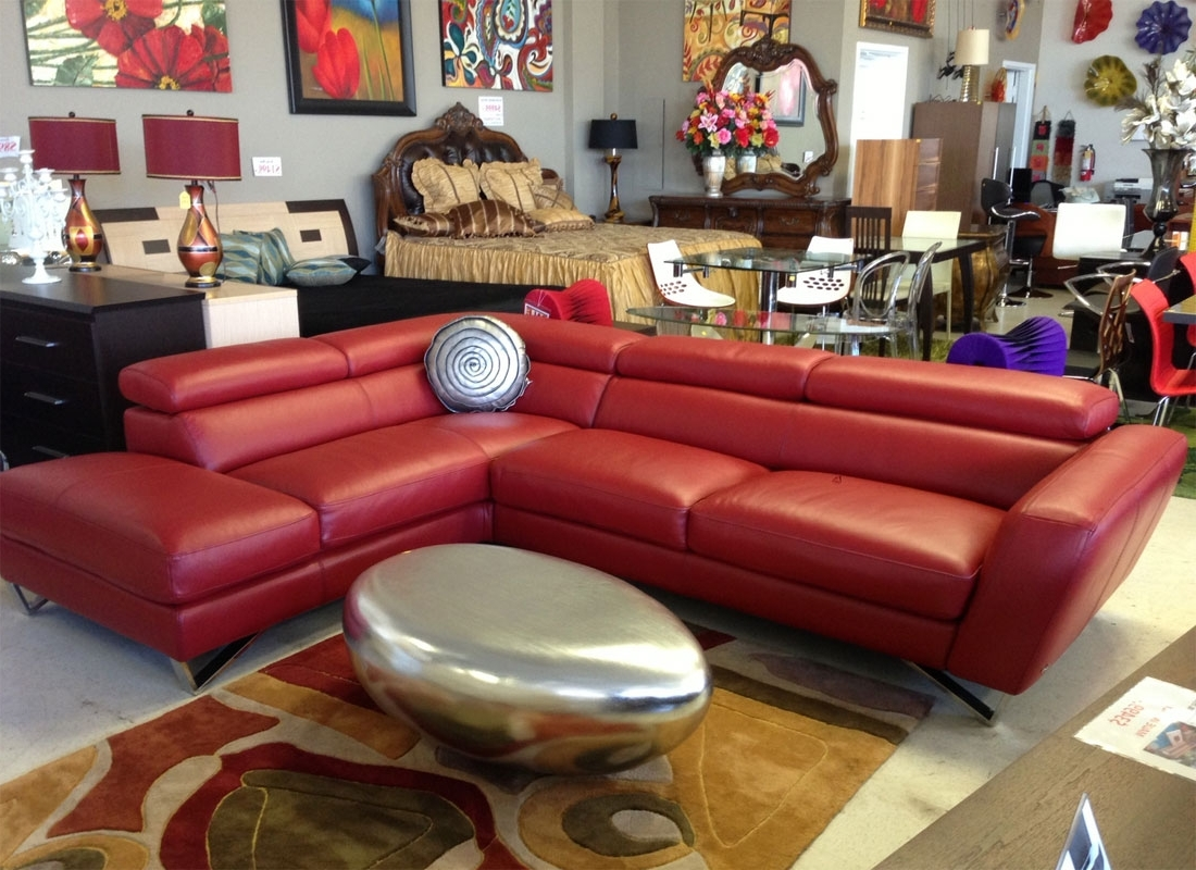 Leather Sectionals Intended For Sacramento Sectional Sofas (View 9 of 20)