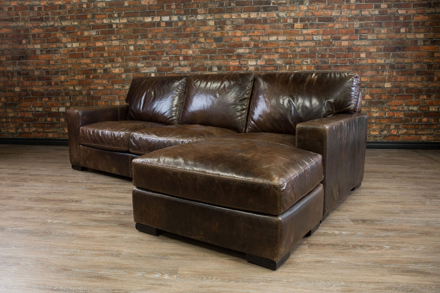 Leather Sofa (View 5 of 20)
