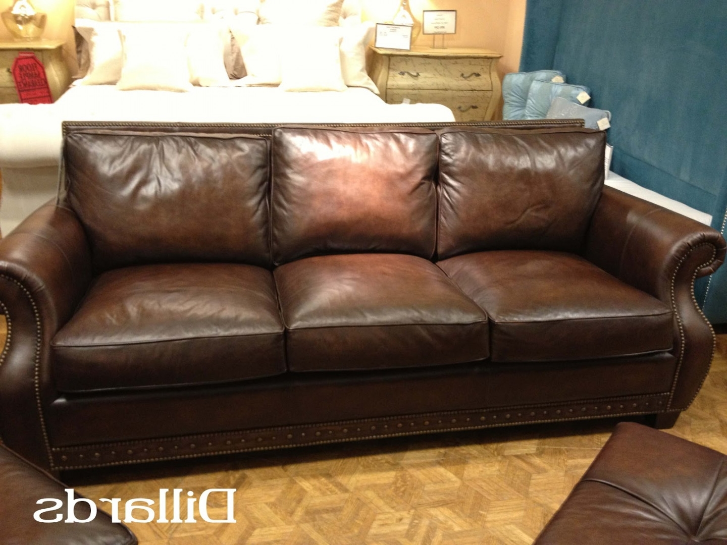 Leather Sofa Dillards With Regard To Newest Sectional Sofas Gallery 2 Of 20
