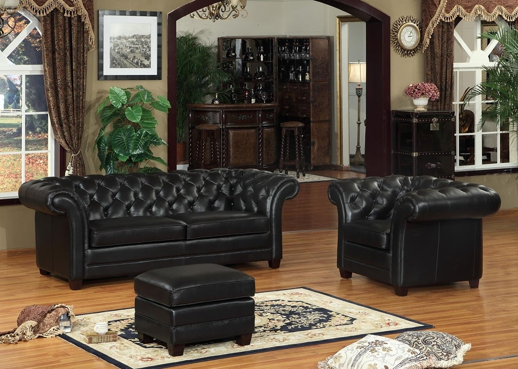 Leather Victoria Collection Split Sofa Within Favorite Victorian Leather Sofas (View 5 of 20)