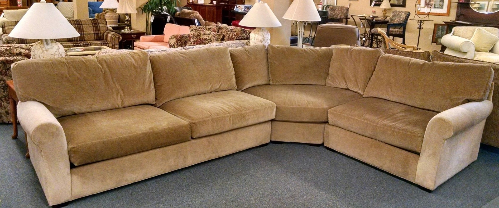 Lee Industries Sectional Sofa (View 8 of 20)