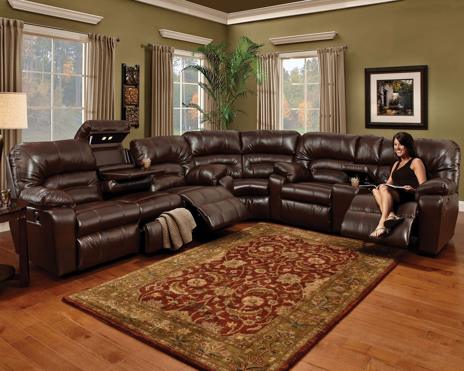 Levin Furniture Inside Well Known Jedd Fabric Reclining Sectional Sofas (View 14 of 20)