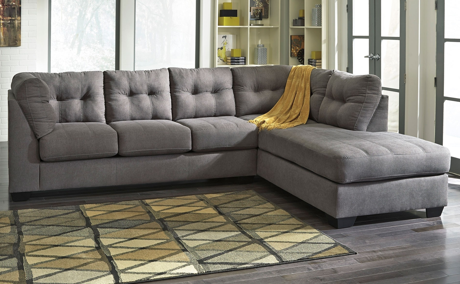 Light Grey Sectional Sofa Waverunner Modular Divani Casa Quebec Regarding Current Quebec Sectional Sofas (View 5 of 20)