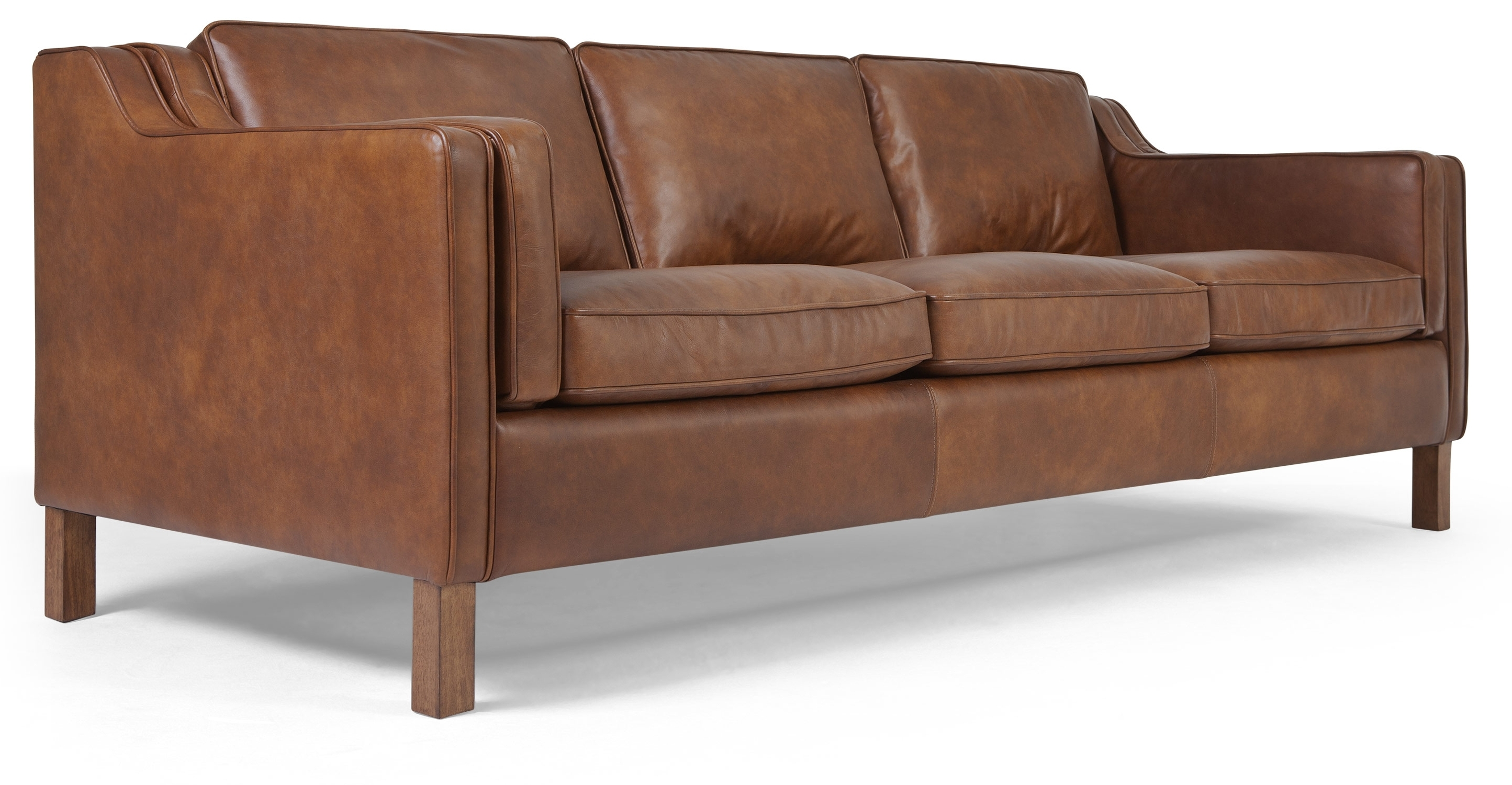 Light Tan Leather Sofas Inside 2018 Furniture : Great Light Brown Leather Sofa 40 For Your Living Room (View 6 of 20)