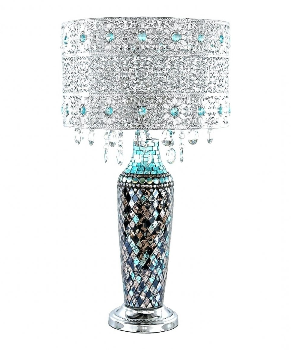 Lighting : Extraordinary Lamp Shades Designs Shade Patterns To Make Within Best And Newest Turquoise Chandelier Lamp Shades (View 9 of 20)