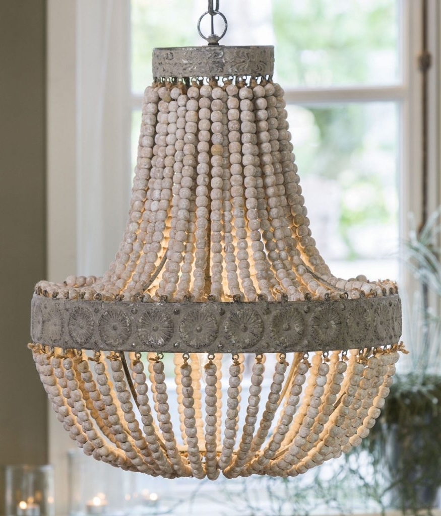 Lighting : Redefine Contemporary Style With The Malibu Chandelier Intended For Trendy Small Turquoise Beaded Chandeliers (View 9 of 20)