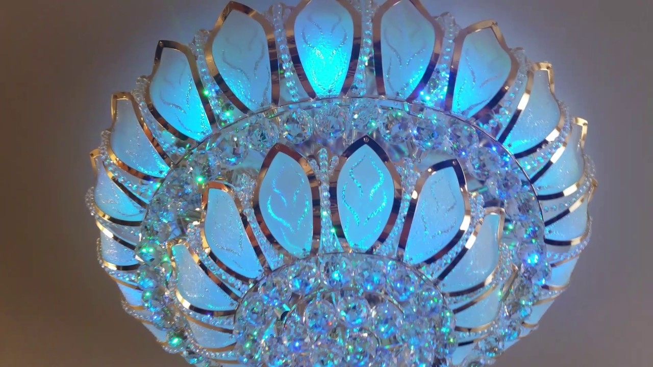 Lighting Store Near Me,swarovski,crystal Chandelier,led Light,led For Most Up To Date Turquoise Color Chandeliers (View 13 of 20)