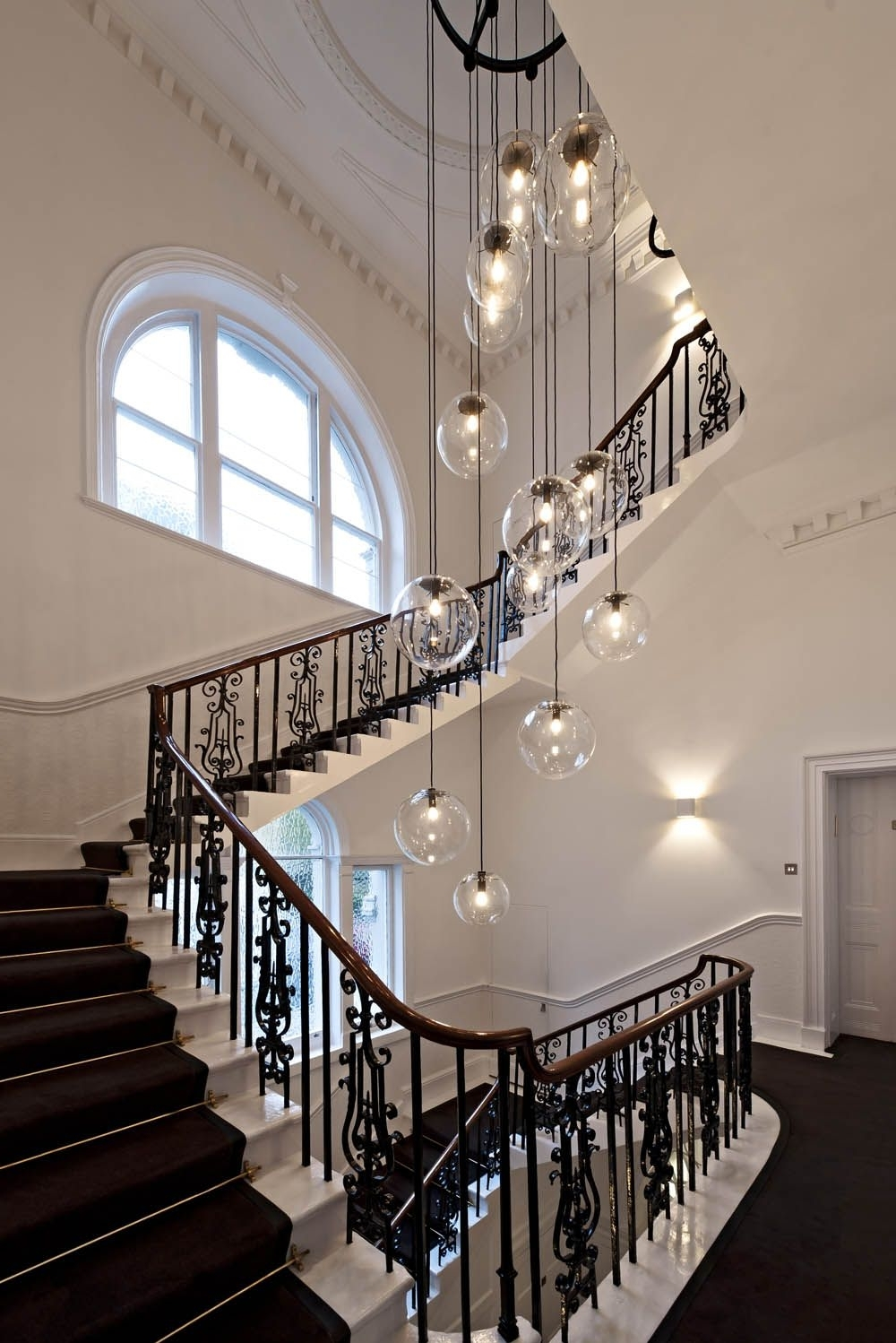 Lighting Throughout Stairwell Chandelier (View 7 of 20)