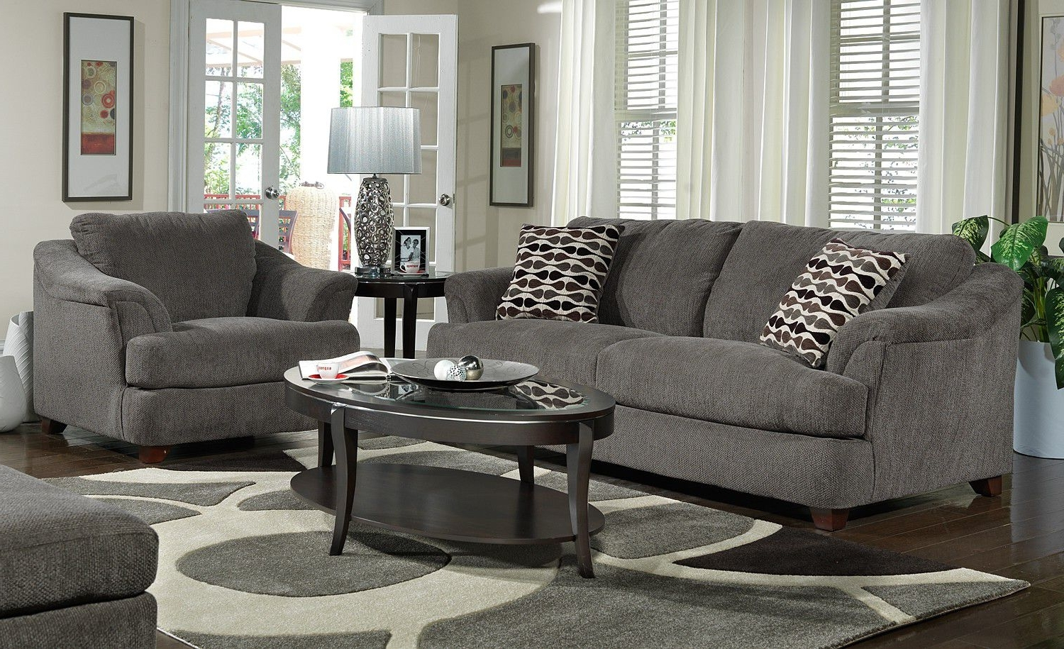 Living Room Design : Living Room Susan Design Ideas Grey Sofa Inside 2019 Grey Sofa Chairs (View 4 of 20)