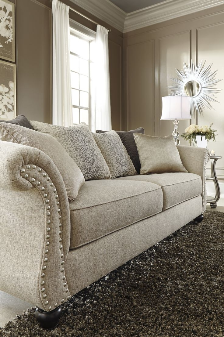 Living Room : Elegant Sofa Ashley Furniture Living Room Curtains Pertaining To Famous Elegant Sofas And Chairs (View 5 of 20)