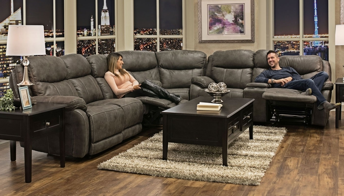 Living Room In Trendy Home Zone Sectional Sofas (View 12 of 20)