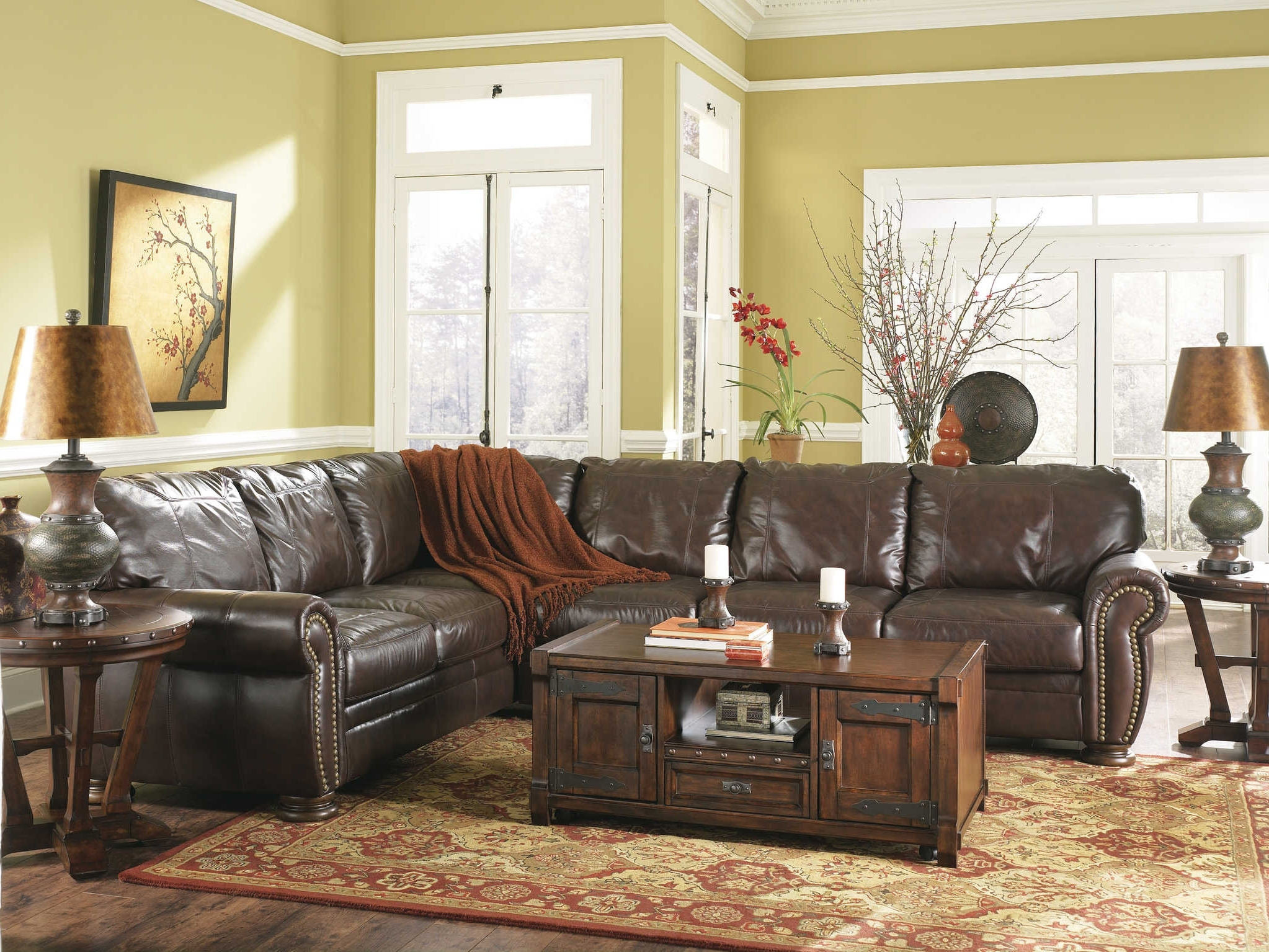 Living Room : Living Room Furniture Sofa Workshop Brown Distressed In Preferred Lancaster Pa Sectional Sofas (View 7 of 20)