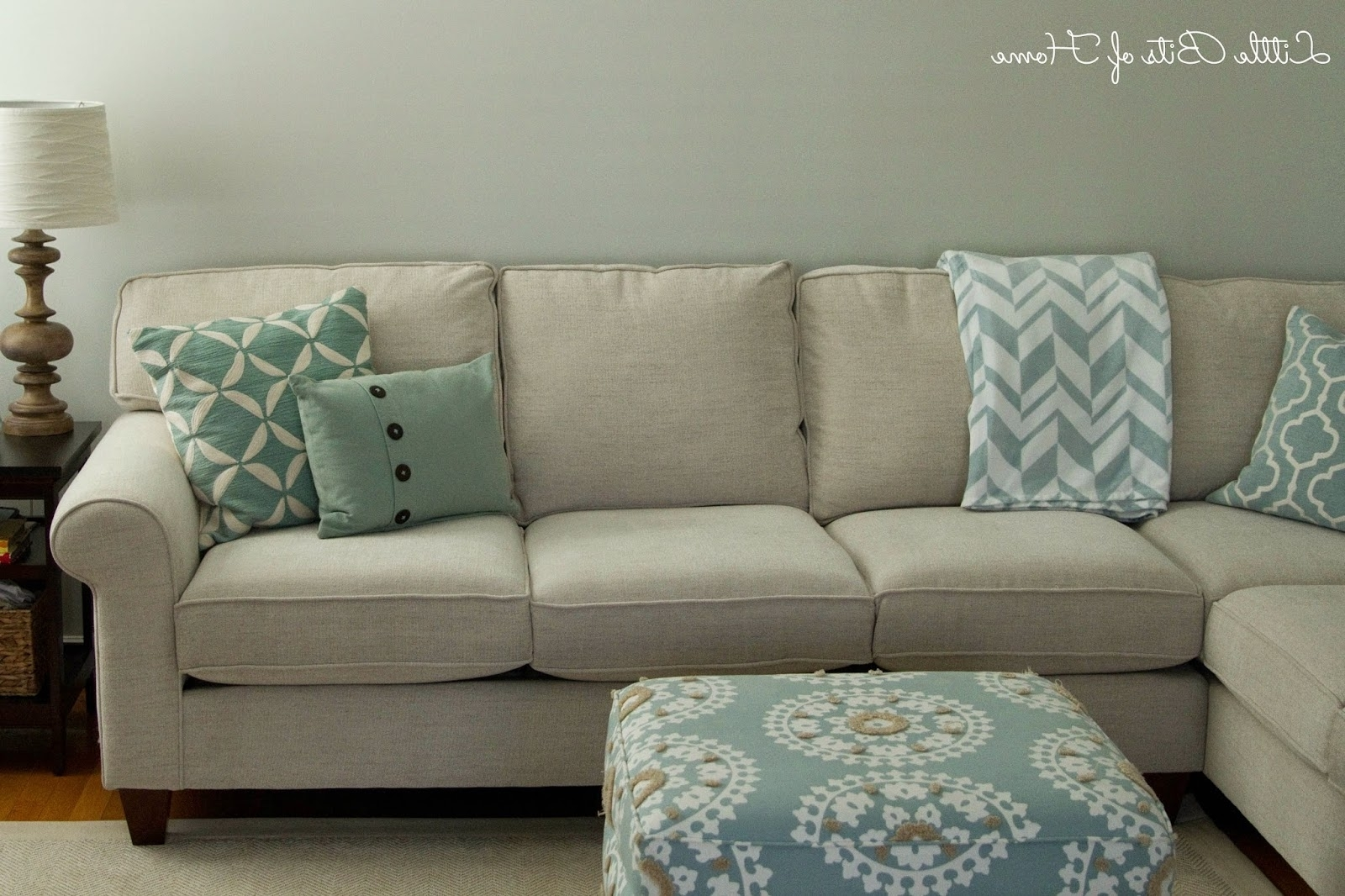 Living Room Makeover: Couch Redo In Trendy Sectional Sofas At Havertys (View 8 of 20)