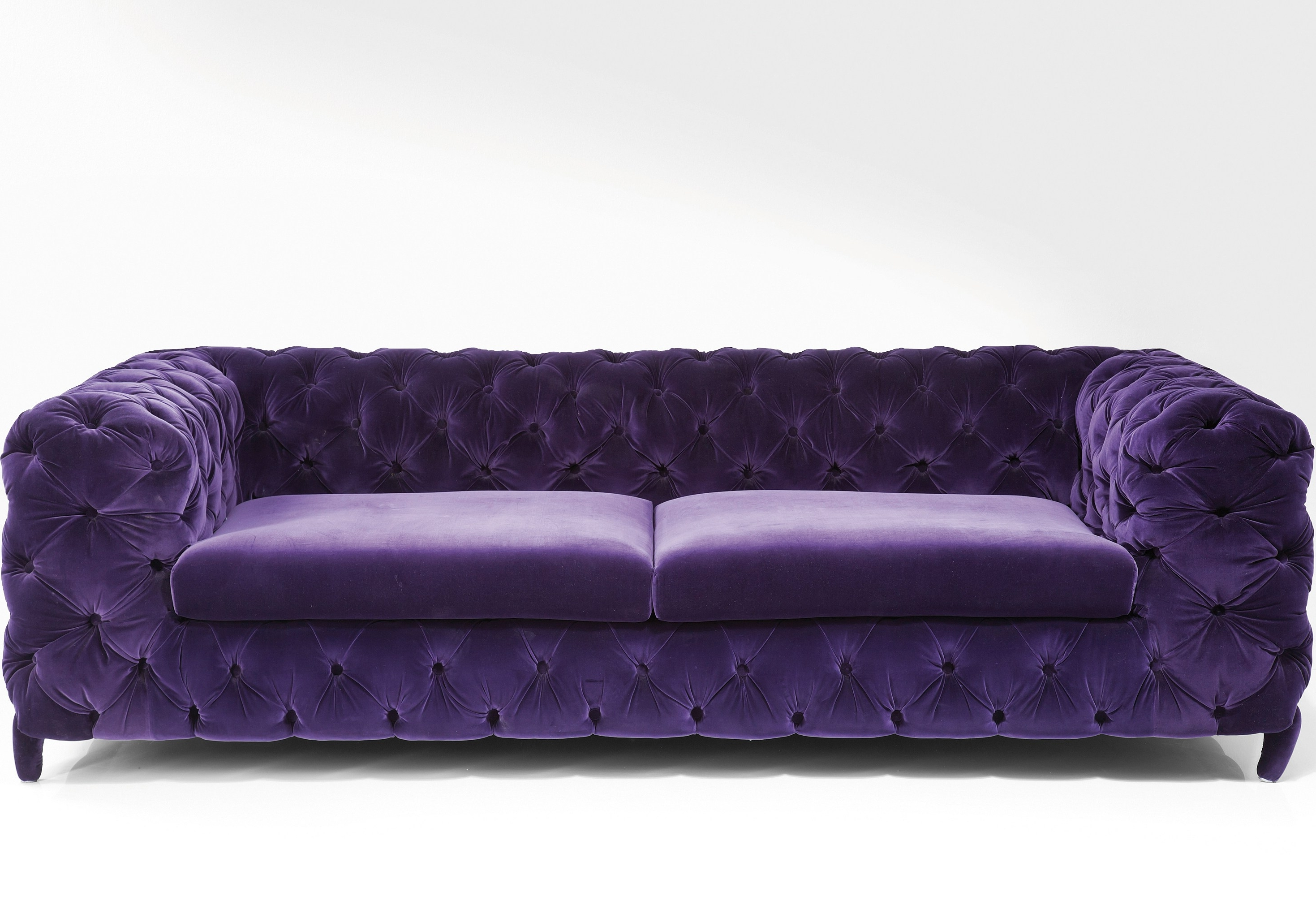Living Room : Match A Purple Sofa Living Room Decor Purple Leather For Fashionable Velvet Purple Sofas (View 2 of 20)