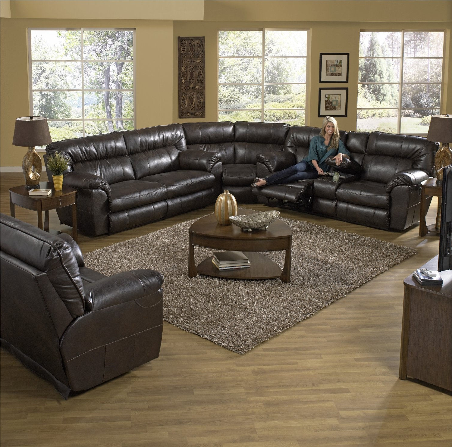 Living Room Sets – Traditional To Modern – Hom Furniture In Preferred Minneapolis Sectional Sofas (View 6 of 20)
