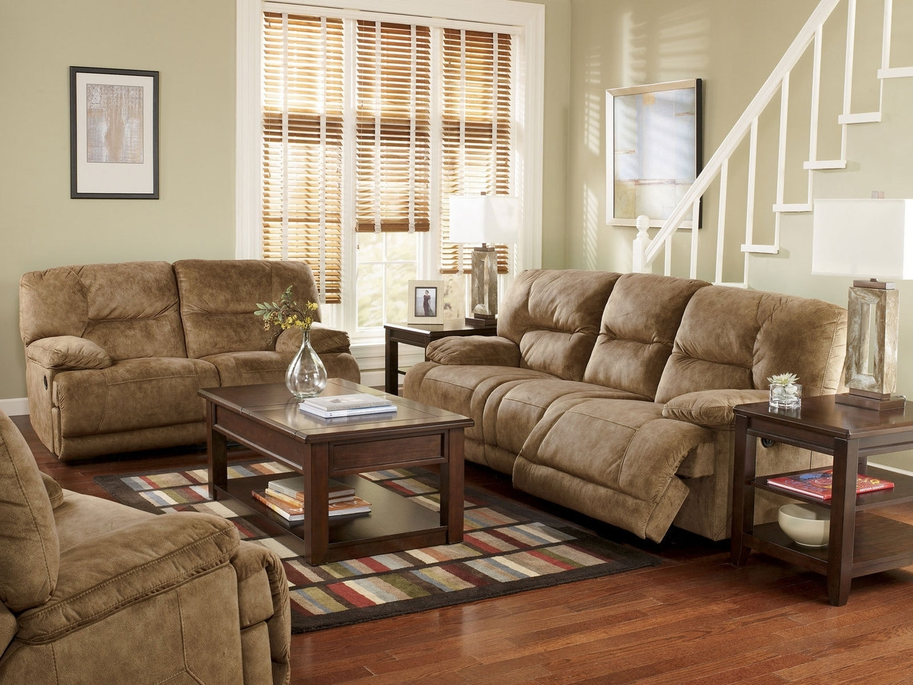 Living Room Sofa And Chair Sets Regarding Widely Used Avery Grey Fabric Sofa And Loveseat Set Steal Furniture Living (Gallery 11 of 20)