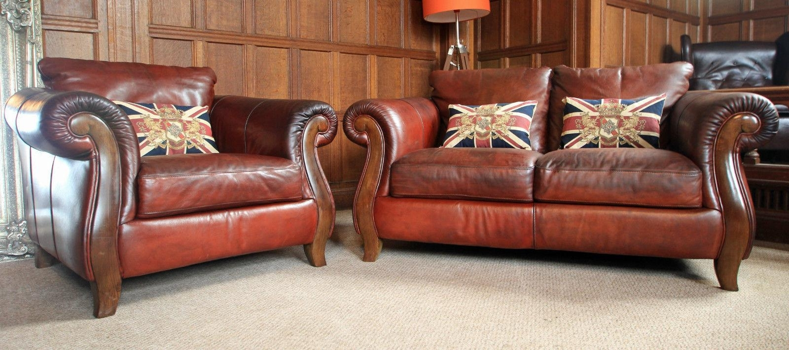 Living Room : Victorian Leather Sofa Cream Leather Sofa Victorian Pertaining To Fashionable Victorian Leather Sofas (View 7 of 20)