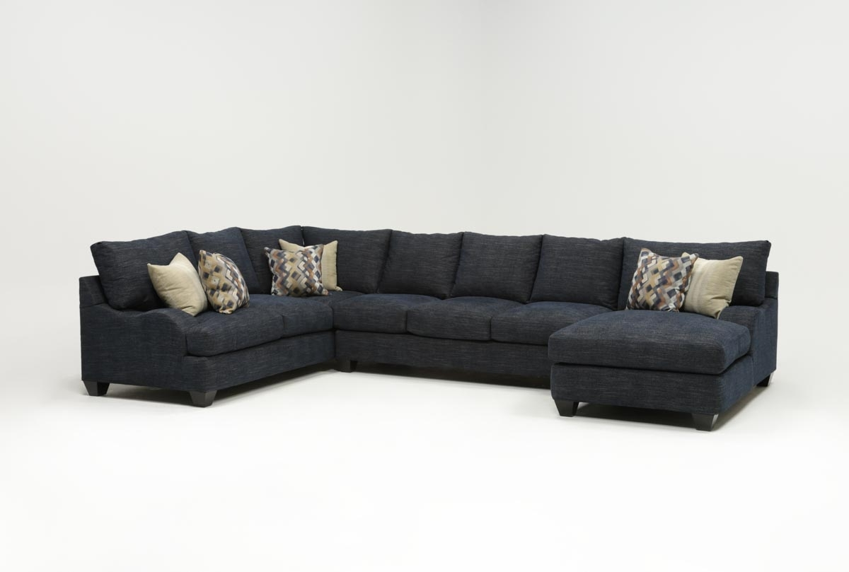 Living Spaces Intended For Preferred Living Spaces Sectional Sofas (View 7 of 20)