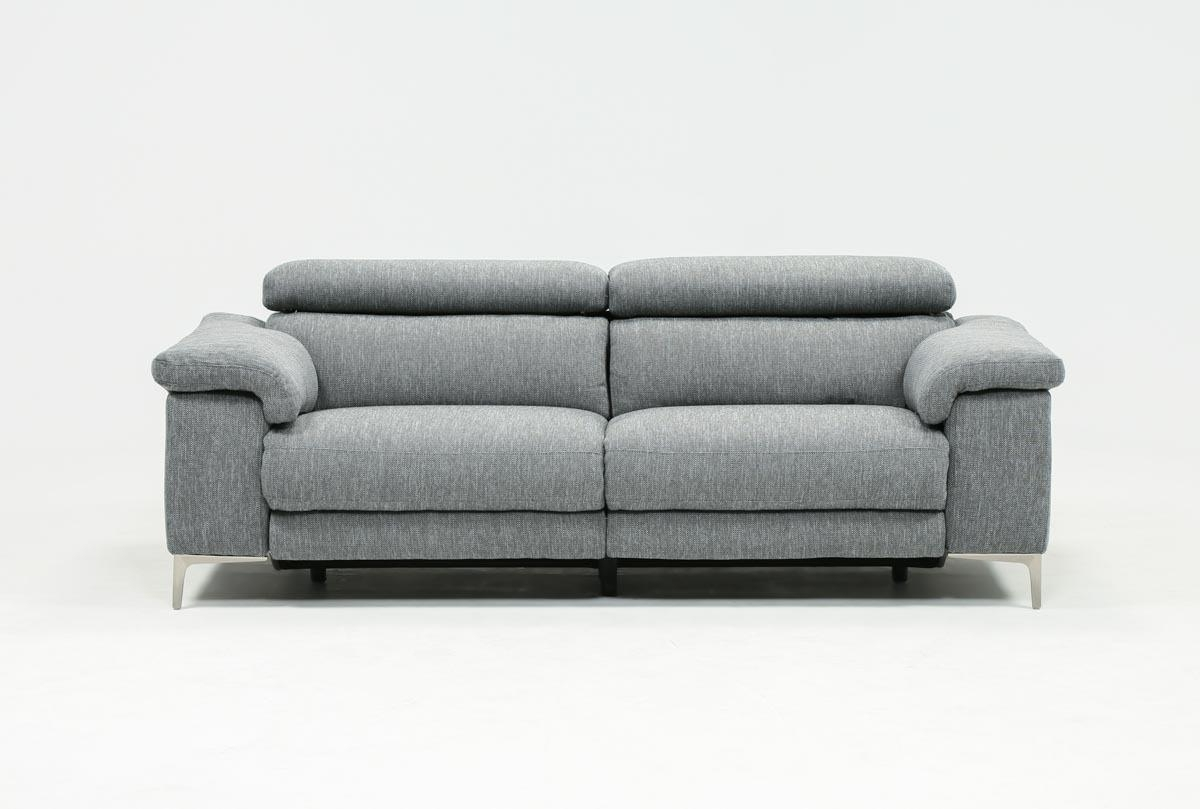 Living Spaces Pertaining To Recliner Sofas (View 3 of 17)