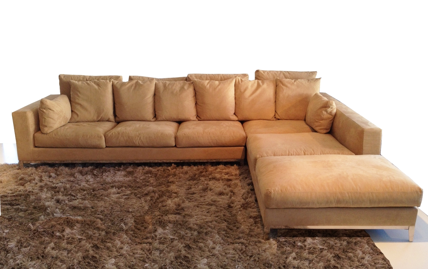 Long Chaise Sofas Regarding Most Up To Date Extra Large Sectional Sofas – Decofurnish (View 8 of 20)
