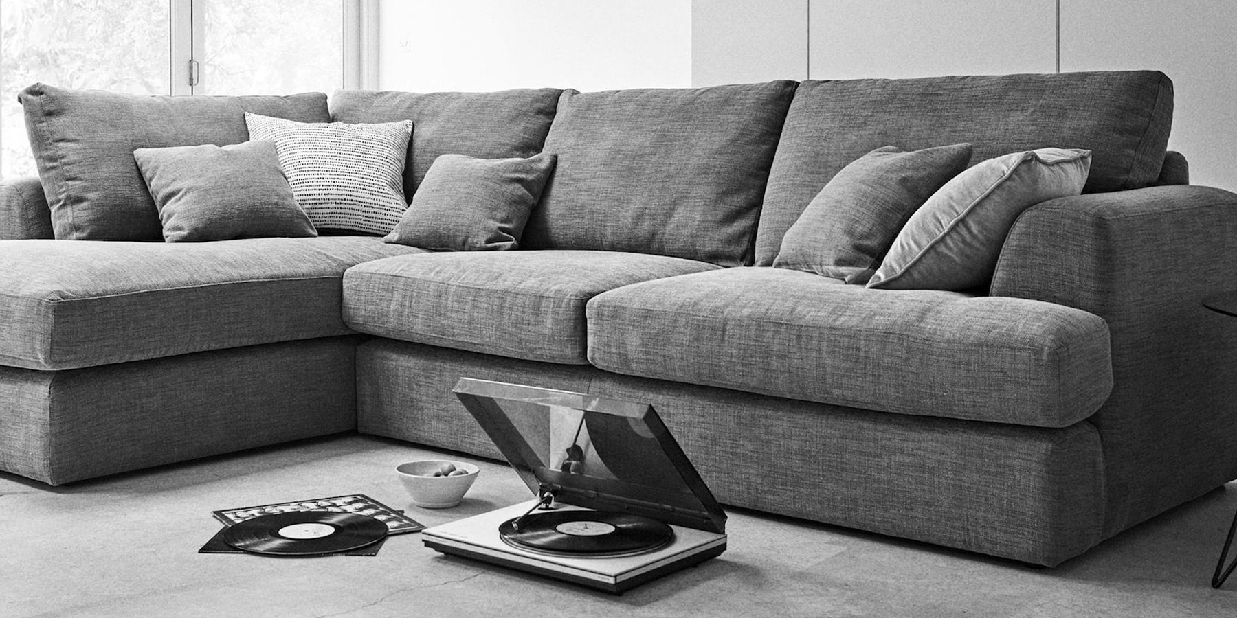 Long Chaise Sofas Within Well Known Buy Stratus Iii Formal Back Large Chaise End Corner – Left Hand ( (View 17 of 20)