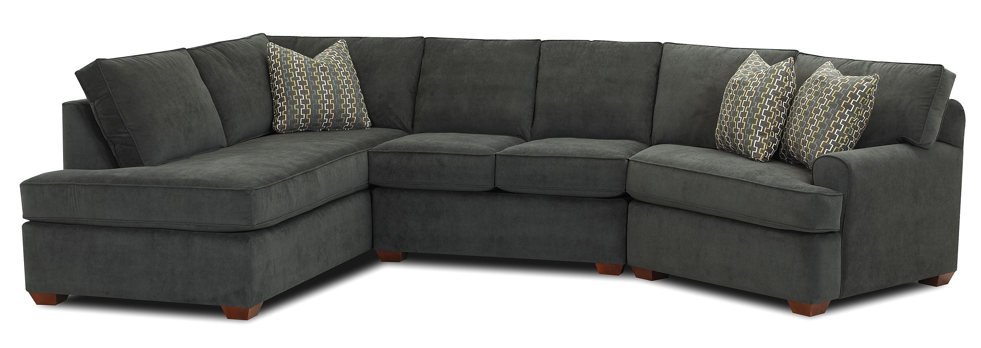 Long Sectional Sofas With Chaise Throughout Well Known Klaussner Hybrid Sectional Sofa With Right Facing Sofa Chaise (View 8 of 20)