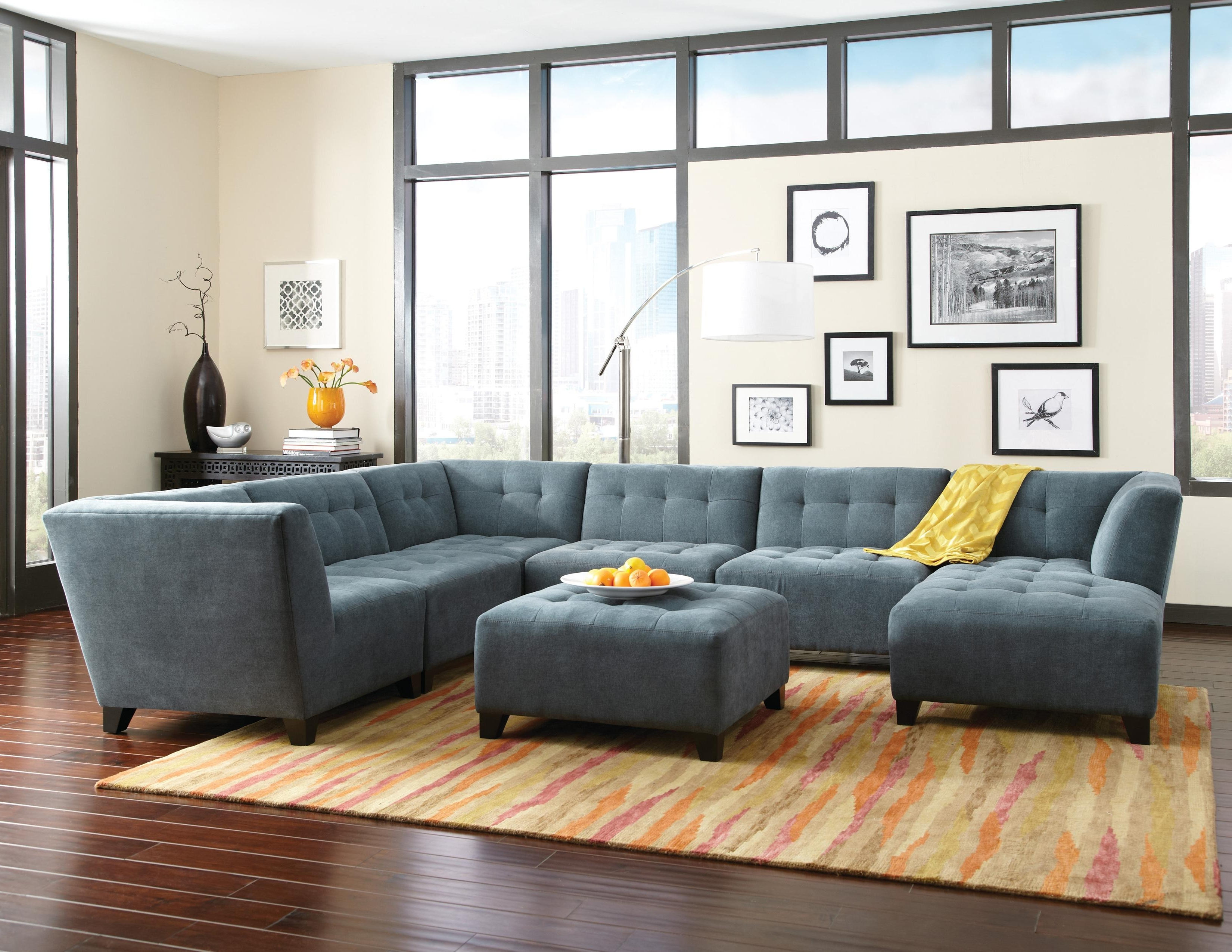 Louis Sectional Sofa – Home Design Ideas And Pictures Throughout Most Popular Homemakers Sectional Sofas (View 12 of 20)