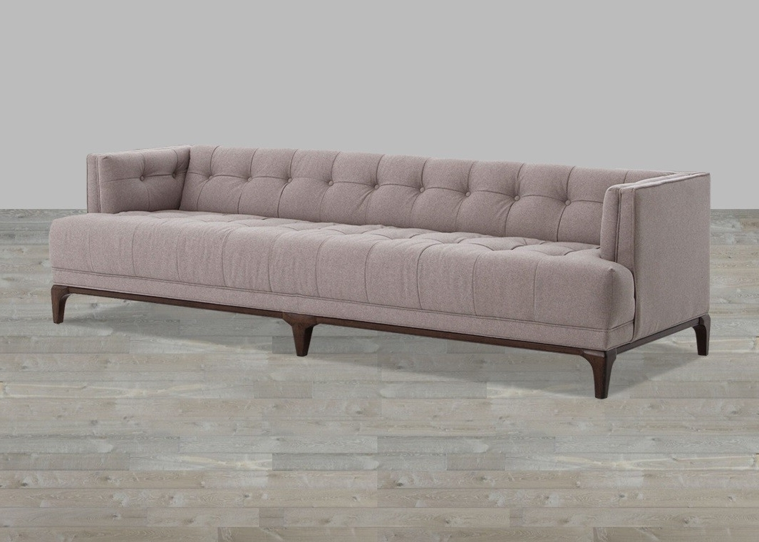 Loveseat : Gray Couch Covers Couches With One Seat Cushion Small Pertaining To Most Current One Cushion Sofas (View 9 of 20)