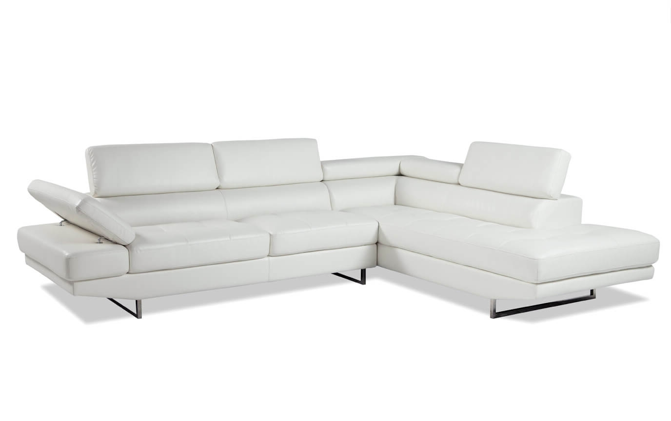Luna 2 Piece Right Arm Facing Sectional (View 9 of 20)