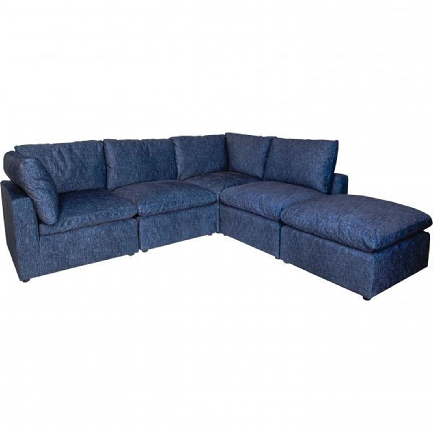 Lush Five Piece Sectional (View 15 of 20)