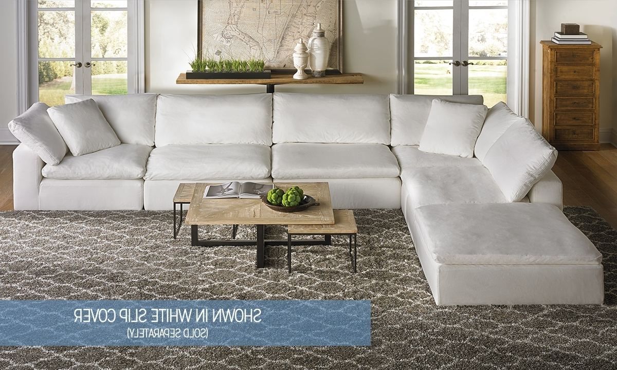 Luxe Modular Slipcover Sectional (View 11 of 20)