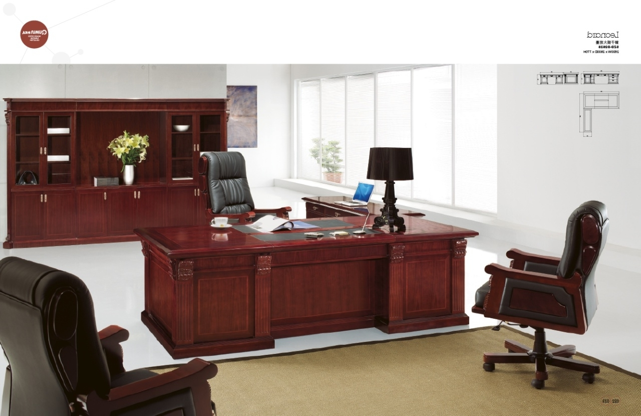 Luxury Executive Office Chairs Intended For Most Recent Interior : Executive Office Desk Furniture Interior Resources St (View 4 of 20)