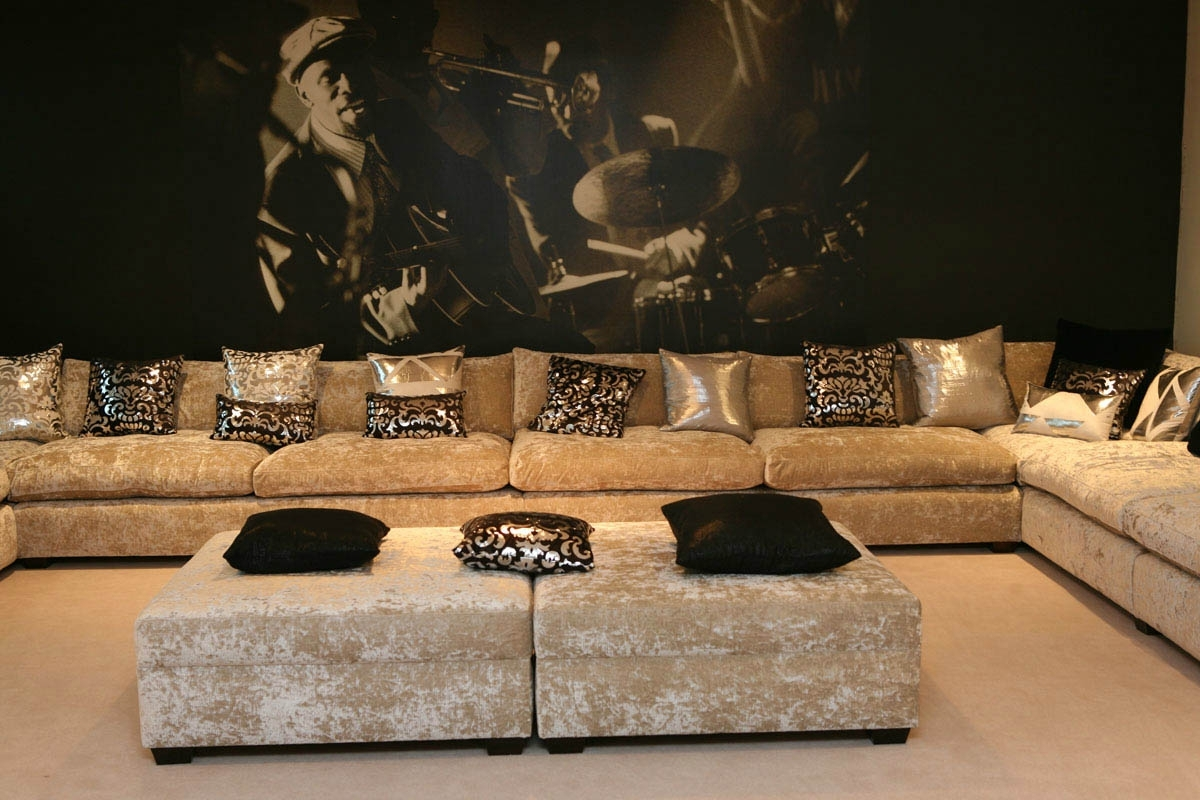 Luxury Sectional Sofas Within Favorite Unique Luxury Sectional Sofas Dhy13 # (View 11 of 20)