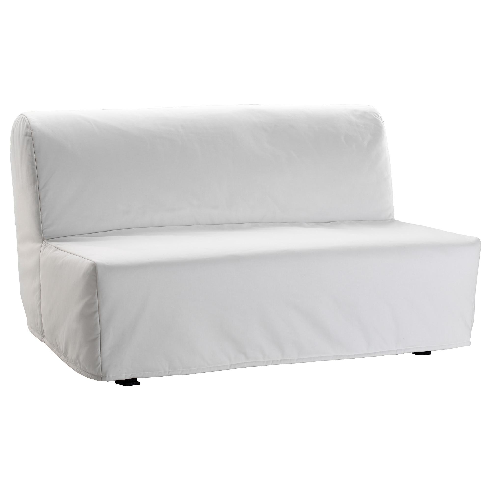 Lycksele Lövås Sleeper Sofa – Ransta White – Ikea Regarding Most Recently Released Ikea Loveseat Sleeper Sofas (View 15 of 20)