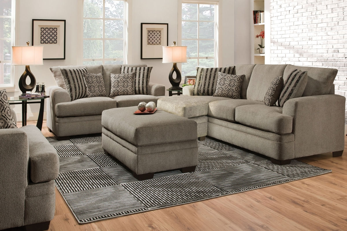 Lynwood Chenille Sectional With Moveable Chaise At Gardner White Inside Well Known Gardner White Sectional Sofas (View 10 of 20)