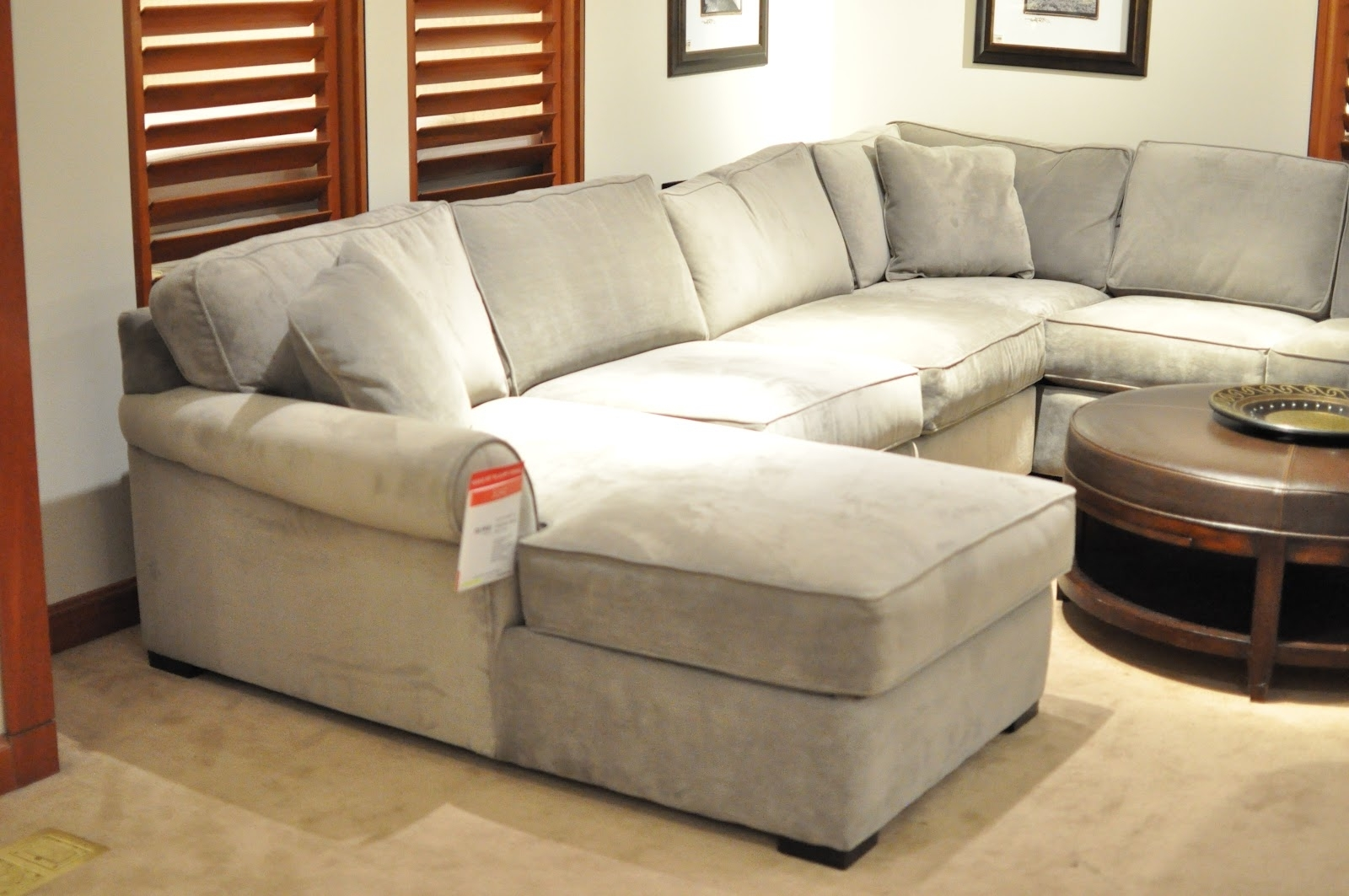 Macys Leather Sectional Sofas In Popular Not So Newlywed Mcgees: Shopping For A Sectional (View 9 of 20)